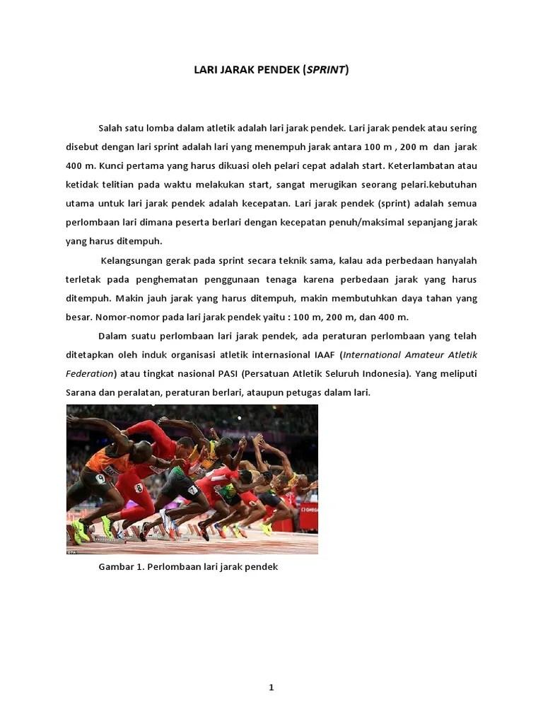 Peraturan Lari Sprint : peraturan, sprint, Lari_Jarak_Pendek_Sprint.docx