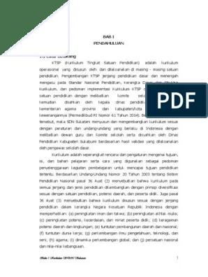 Dokumen 1 Ktsp Sd 2017/2018 : dokumen, 2017/2018, Dokumen, Kurikulum, 2017-2018