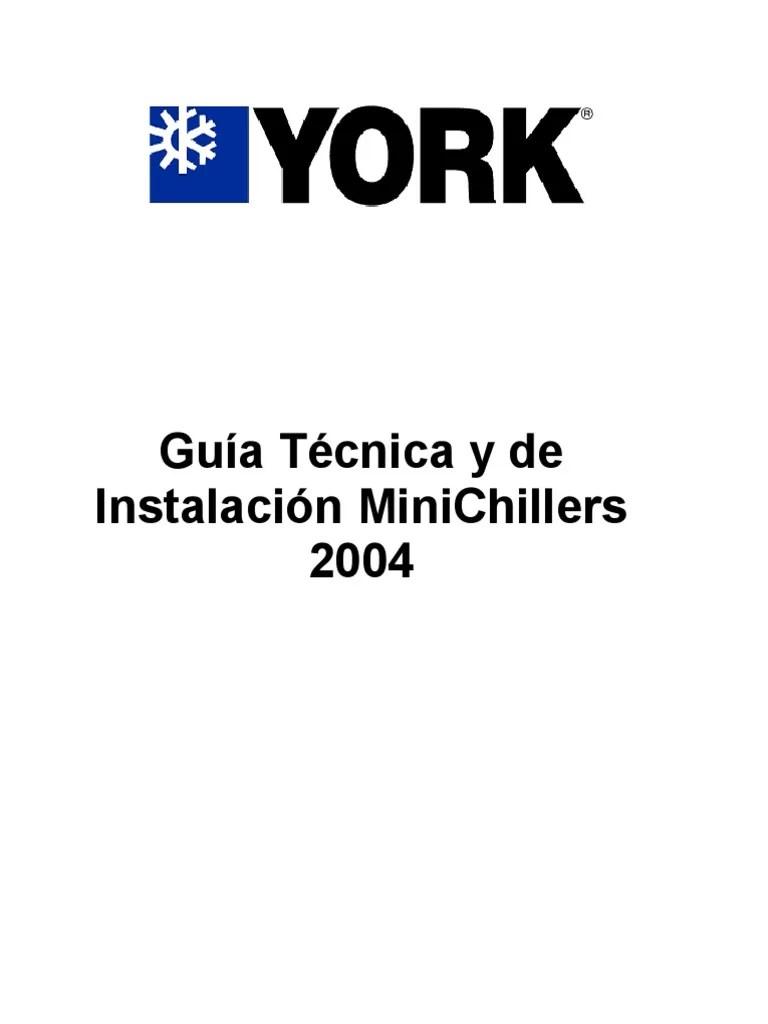Mini Chiller York Manual