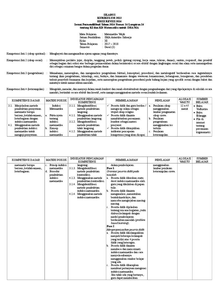 Silabus Matematika Kelas 8 Kurikulum 2013 Revisi 2018 : silabus, matematika, kelas, kurikulum, revisi, Silabus, Matematika, Wajib, Kelas, Kurikulum, Revisi, Pelajar,, Guru,, Mahasiswa, Dosen