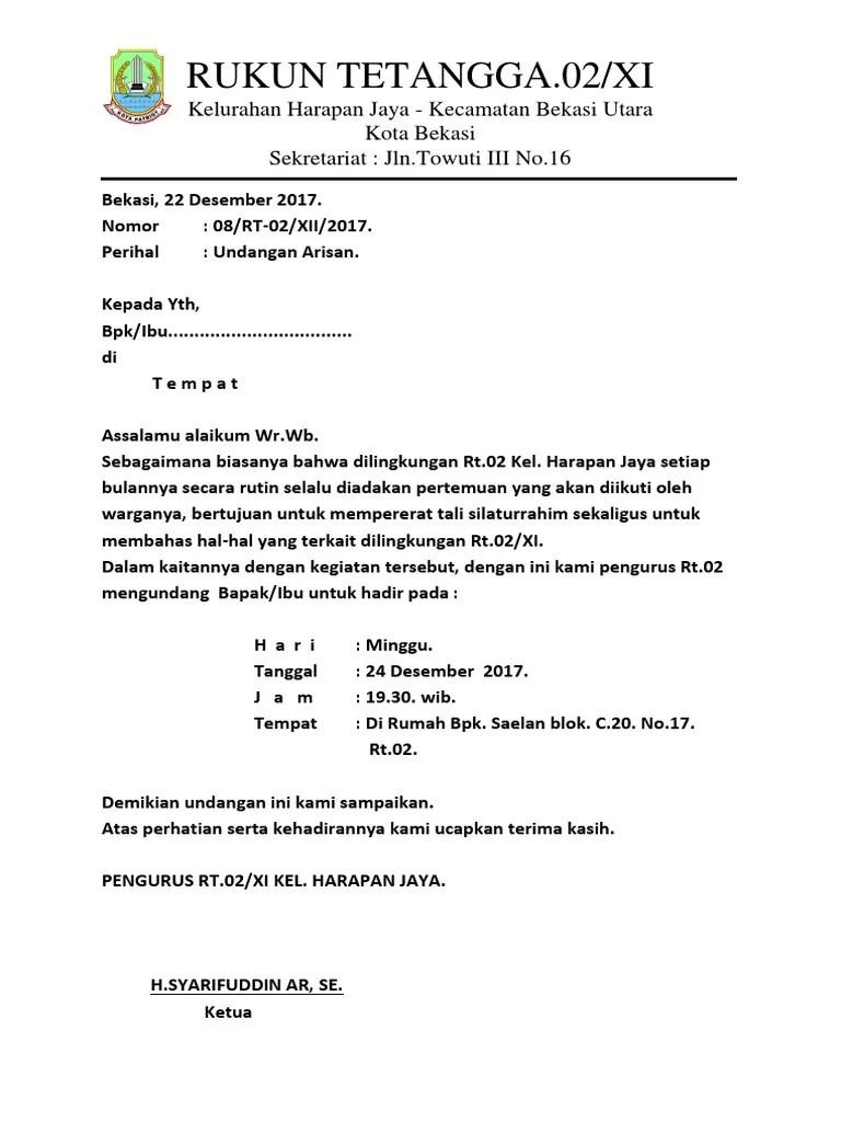 Contoh Kop Surat : contoh, surat, Surat, RT.docx