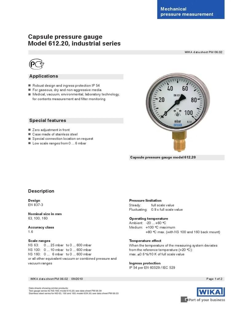 DS_PM0602_GB   Medición de presión   Vacío