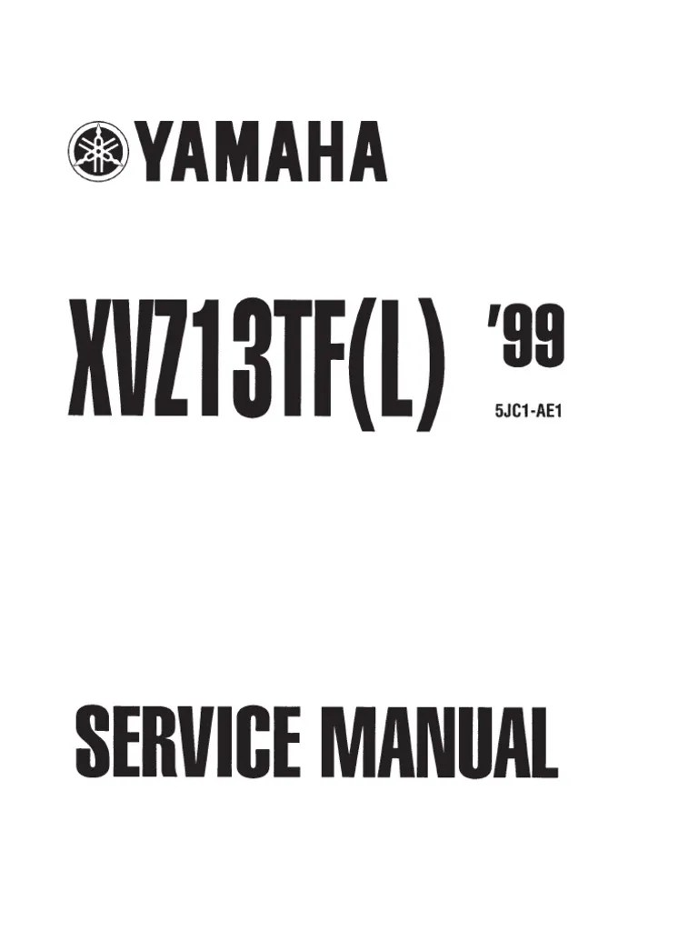 hight resolution of yamaha xvz1300 tf l royal star 99 service manual eng by mosue compact cassette motor oil