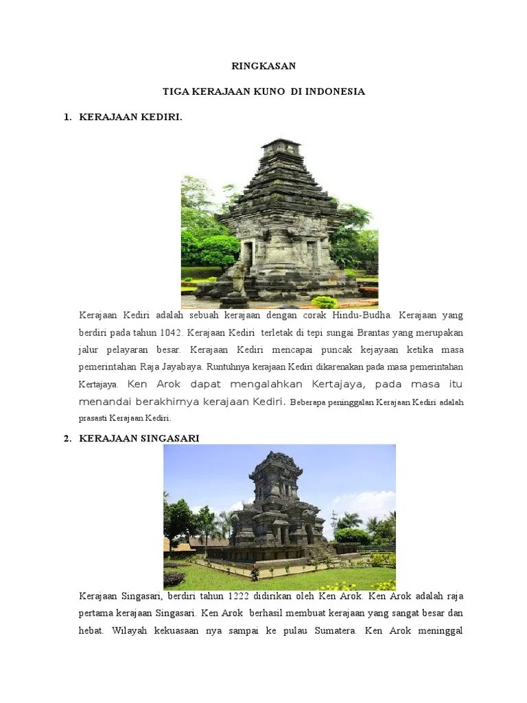 Keruntuhan Kerajaan Kediri : keruntuhan, kerajaan, kediri, RINGKASAN, Kerajaan, Besar, Indonesia