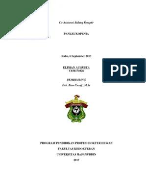 Elphan Augusta - Panleukopenia - Revisi