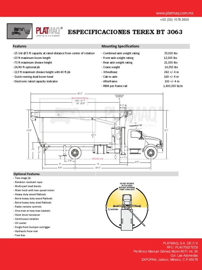 hight resolution of main hoist crane diagram