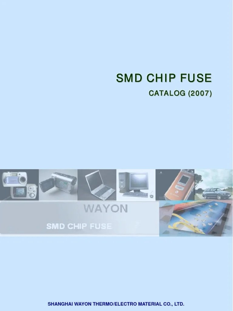 hight resolution of chip fuse
