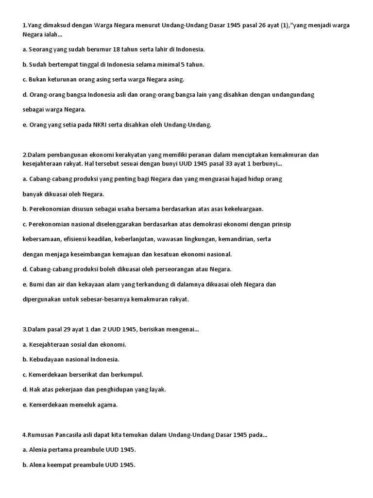 Bunyi Pasal 33 Ayat 3 Uud 1945 : bunyi, pasal