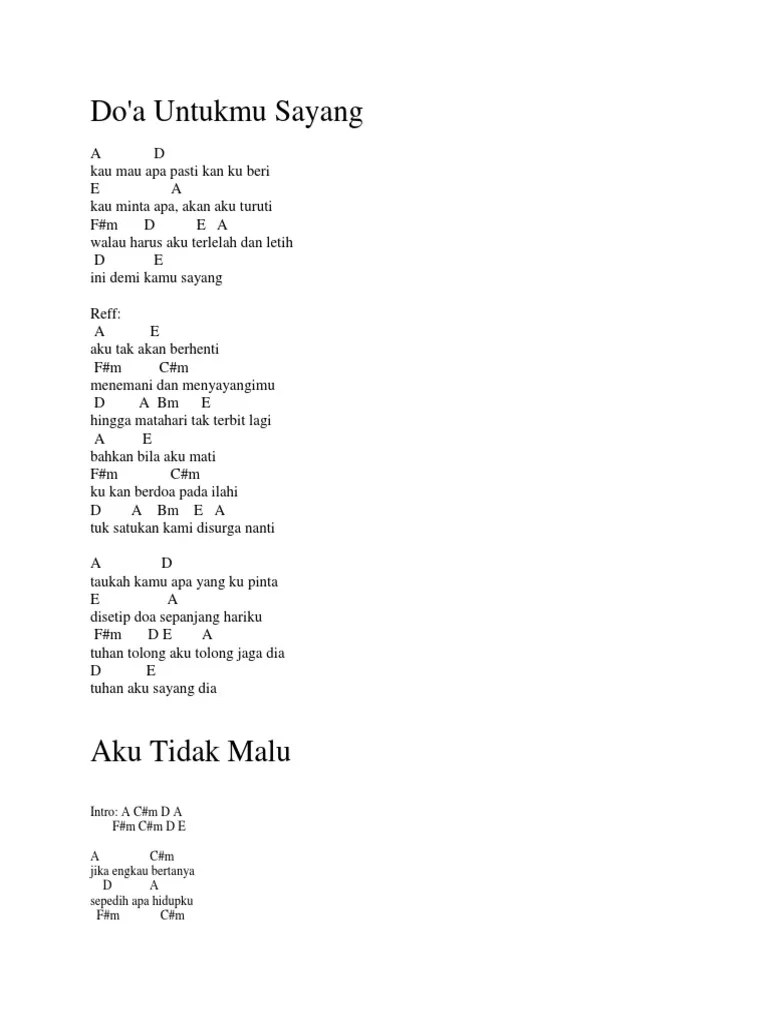 Chord Gitar Wali Baik Baik Sayang : chord, gitar, sayang, Chord, Gitar