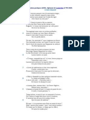 Alphonse De Lamartine Le Lac : alphonse, lamartine, Lamartine, Poésie, Métaphore
