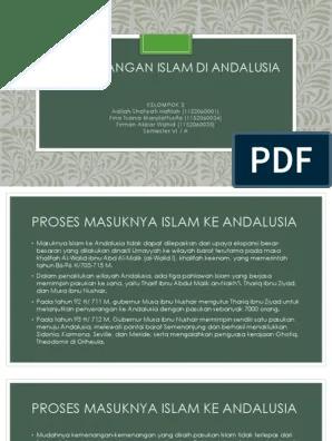 Proses Masuknya Islam Ke Andalusia : proses, masuknya, islam, andalusia, Perkembangan, Islam, Andalusia