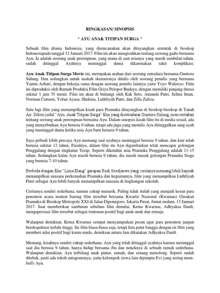 Download Film Ayu Anak Titipan Surga Full Movie : download, titipan, surga, movie, Titipan, Surga.docx