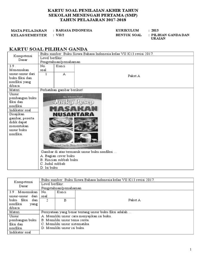 Soal Uas Bahasa Indonesia Kelas 9 Semester 1 Kurikulum 2013 : bahasa, indonesia, kelas, semester, kurikulum, Bahasa, Indonesia, Kelas, Semester, Kurikulum, Materi, Sekolah, Cute766