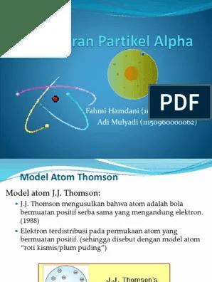 Teori Atom Roti Kismis : teori, kismis, Rutherford