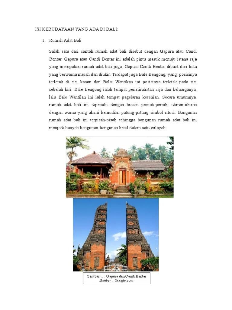 Rumah Adat Bali Gapura Candi Bentar : rumah, gapura, candi, bentar, Gambar, Rumah, Gapura, Candi, Bentar, Gratis