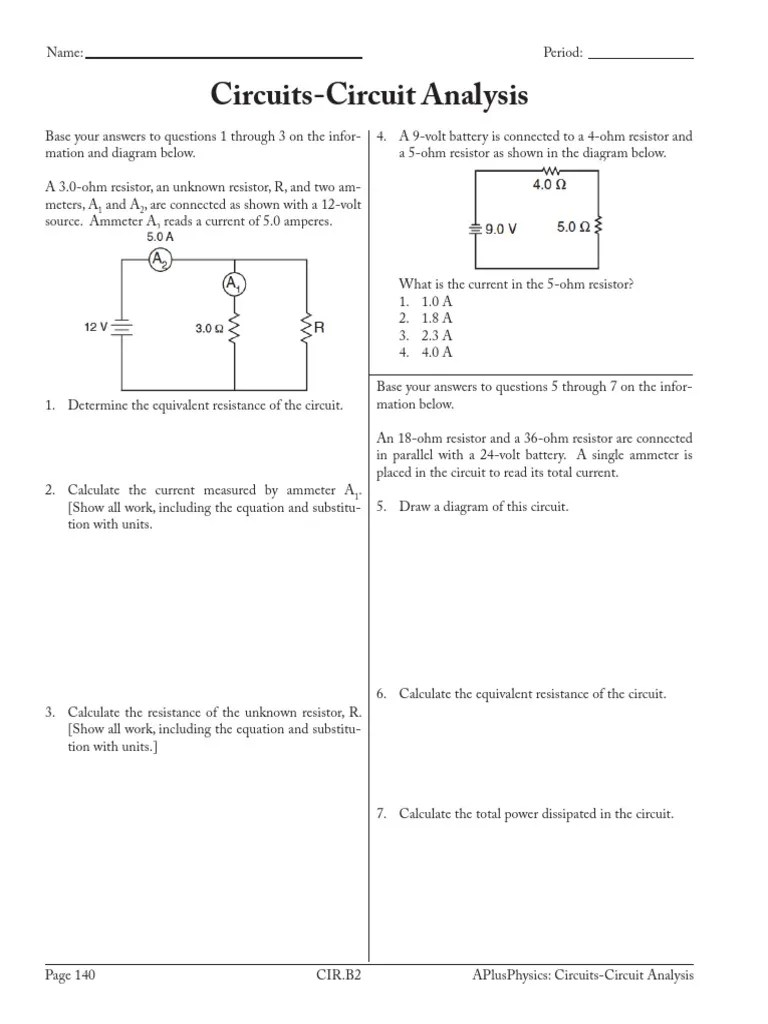 amp meter wiring diagram resistor [ 768 x 1024 Pixel ]