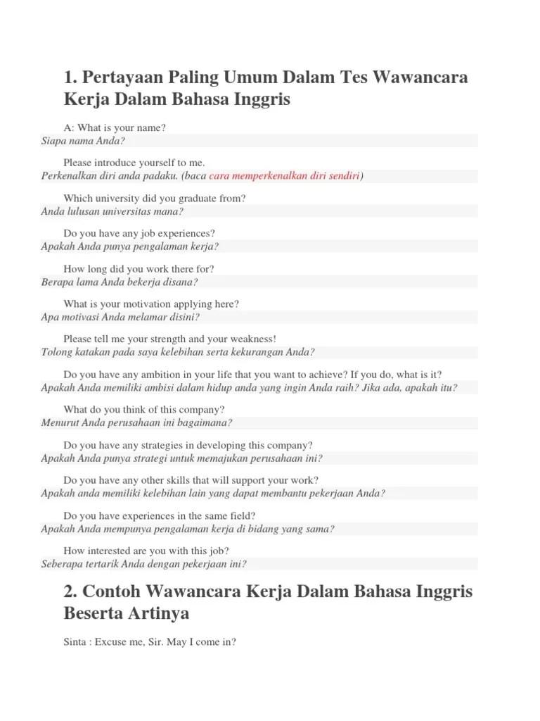 Contoh Interview Dalam Bahasa Inggris : contoh, interview, dalam, bahasa, inggris, Contoh, Perkenalan, Bahasa, Inggris, Interview, Temukan, Cute766