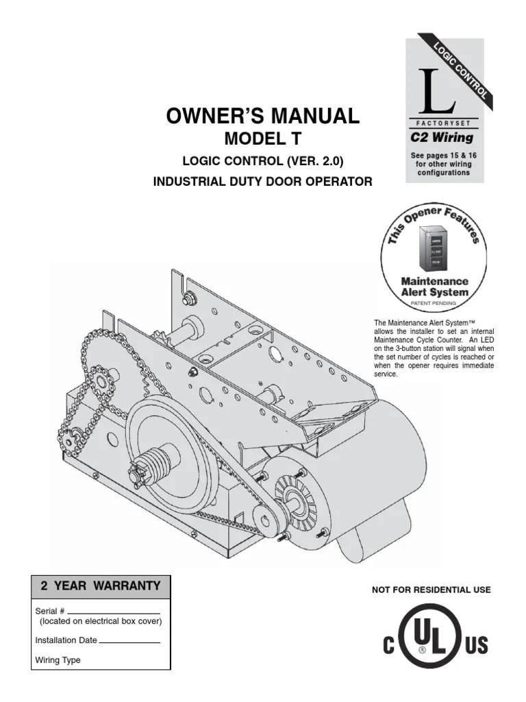 lift master control wiring diagram [ 768 x 1024 Pixel ]