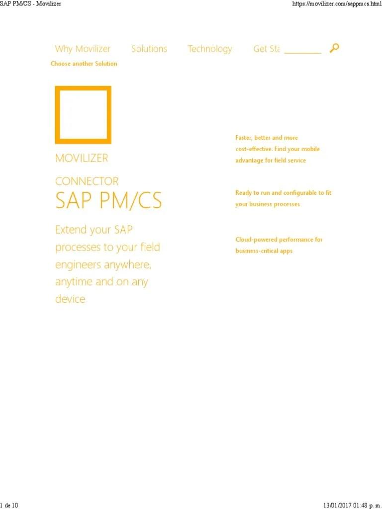 hight resolution of sap pm app