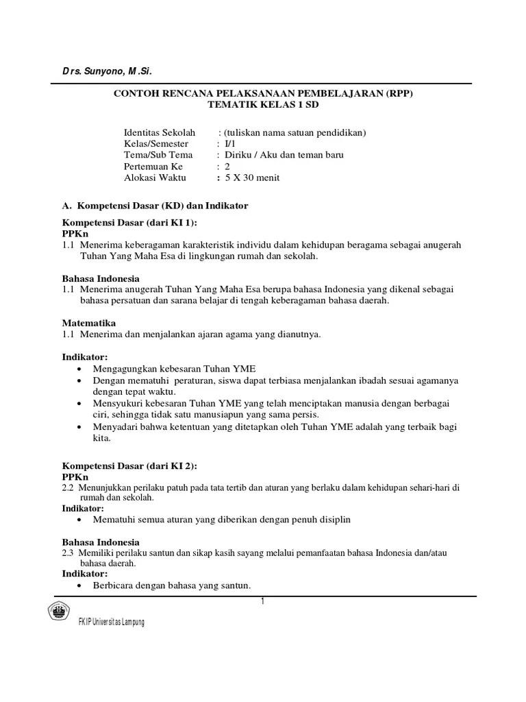 Rpp Matematika Kelas 4 Sd Kurikulum 2013 Pdf : matematika, kelas, kurikulum, Contoh, Matematika, Tematik, Kelas, Dubai, Khalifa