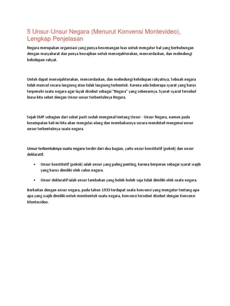 Unsur Deklaratif Dan Konstitutif : unsur, deklaratif, konstitutif, Unsur, Deklaratif, Terbentuknya, Sebuah, Negara, Adalah, Cute766