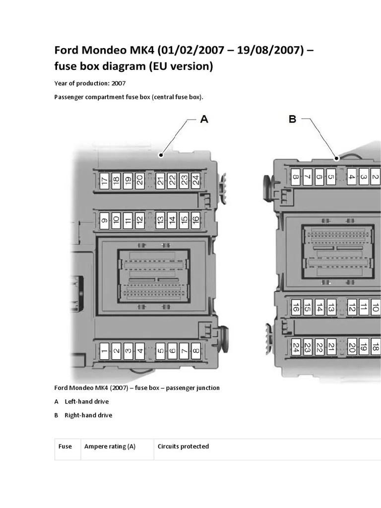 medium resolution of ford mondeo mk4 turbocharger valve mondeo fuse box cigar lighter diagram