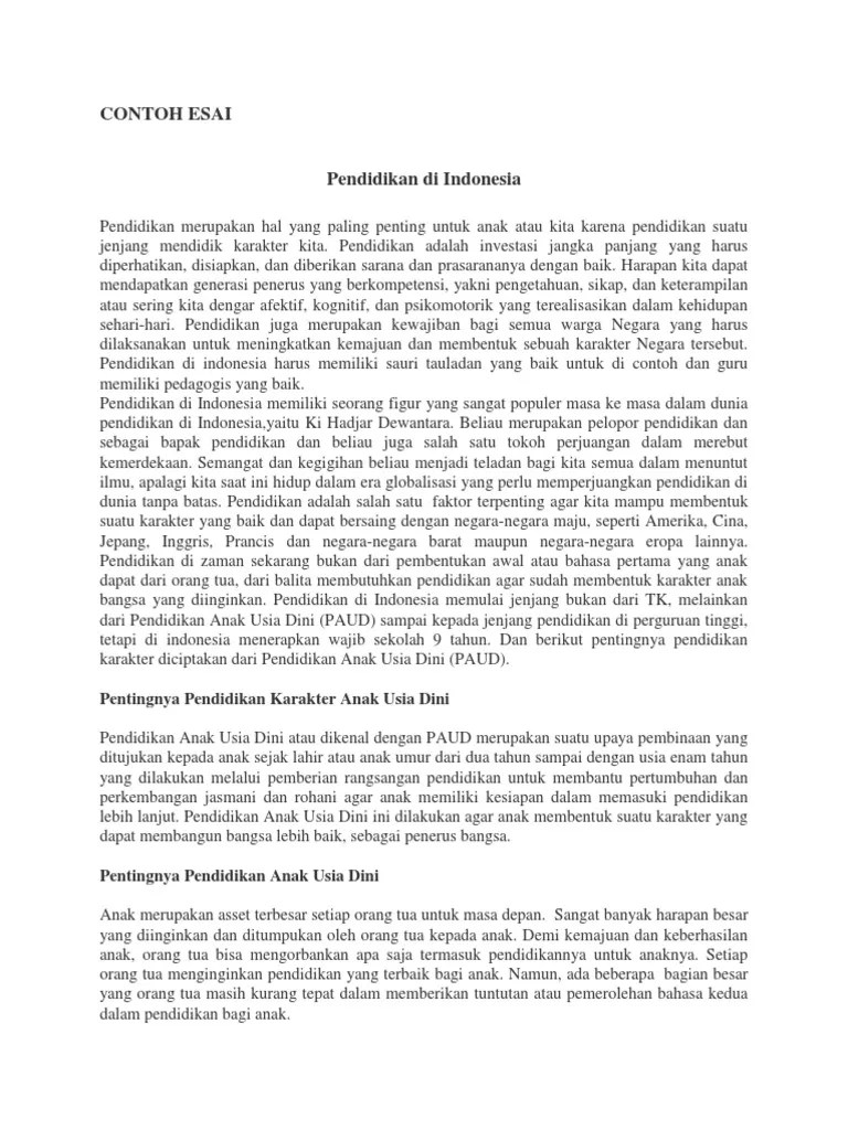 Contoh Esai Kritik Sosial : contoh, kritik, sosial, Contoh, Kritik