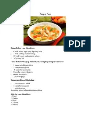 Makanan Indonesia Dalam Bahasa Inggris : makanan, indonesia, dalam, bahasa, inggris, Buatlah, Prosedur, Membuat, Makanan, Daerah, Lukisan