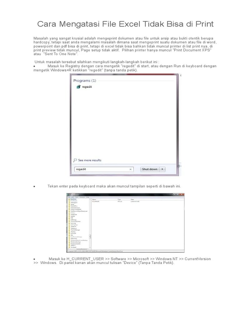 Printer Tidak Terbaca Di Excel : printer, tidak, terbaca, excel, Mengatasi, Excel, Tidak, Print, Cute766
