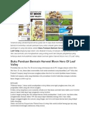 Buku Panduan Harvest Moon Hero Of Leaf Valley : panduan, harvest, valley, Panduan, Harvest, Valley