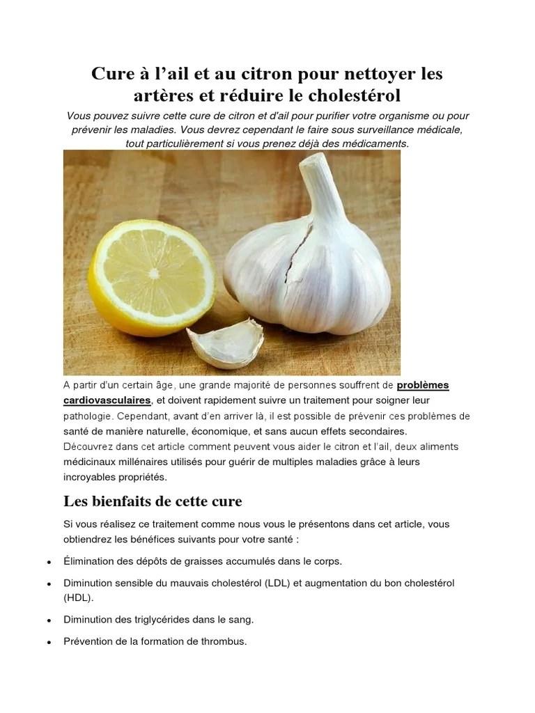 Citron Pour Les Arteres : citron, arteres, Citron, Cholestérol, Lipoprotéine, Basse, Densité