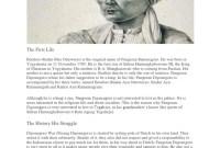 Gambar Pangeran Diponegoro Hitam Putih