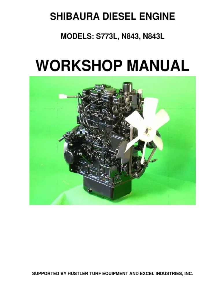 medium resolution of 99515467 hustler shibaura s773l n843 n843l service manual 109823 0209 1 pdf piston cylinder engine