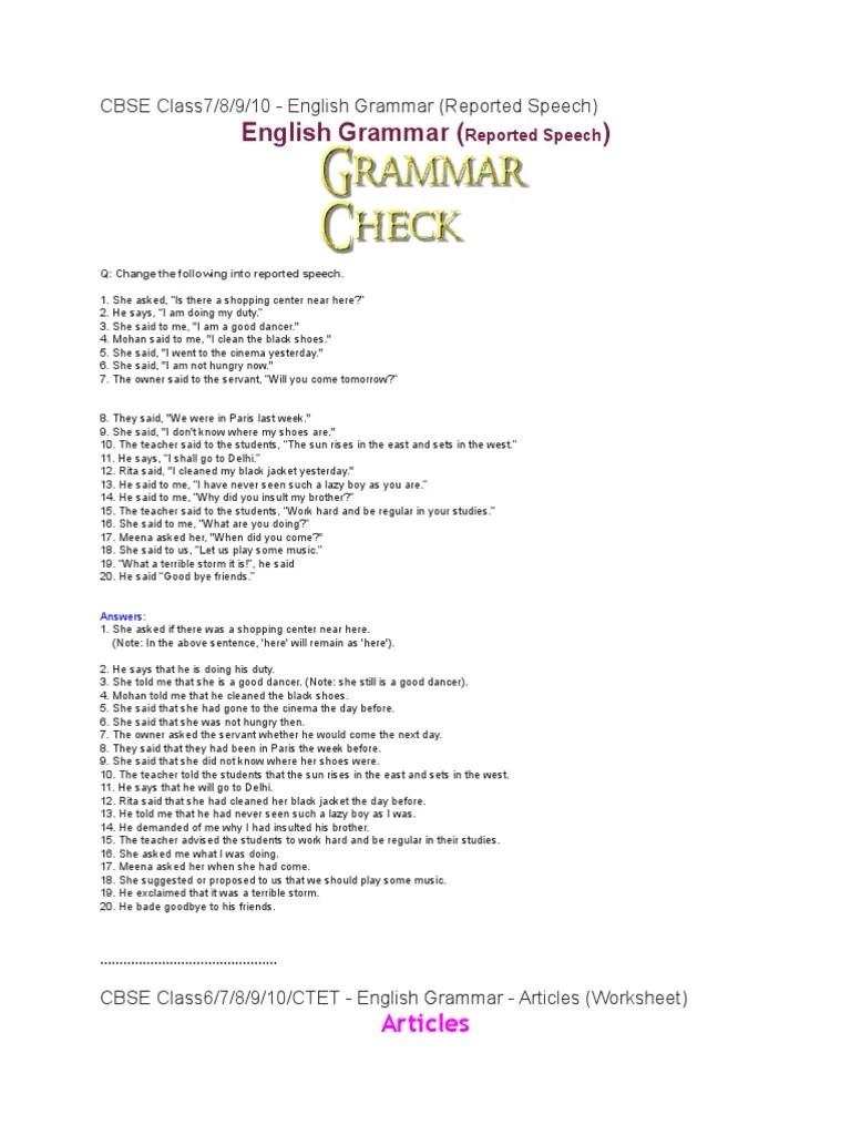 medium resolution of Class 7 English MCQS   Language Mechanics   Grammar