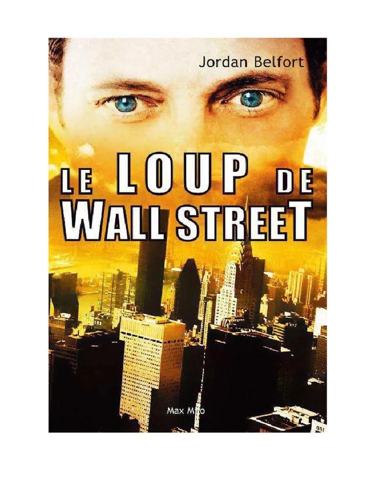 Le Loup De Wall Street Telecharger : street, telecharger, Street, Belfort,, Jordan.pdf, Nature, Affaires