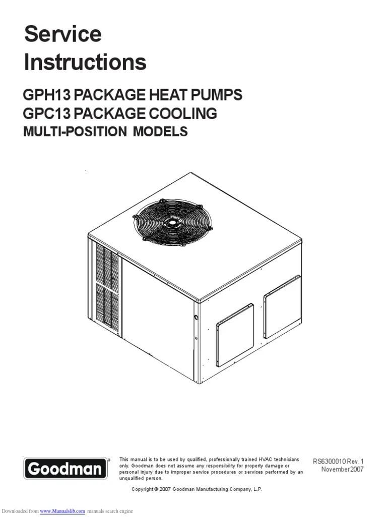 2 ton goodman heat kit wiring diagram [ 768 x 1024 Pixel ]
