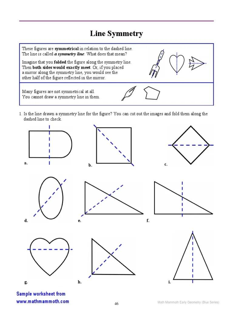 medium resolution of Early Geometry Line Symmetry(2)