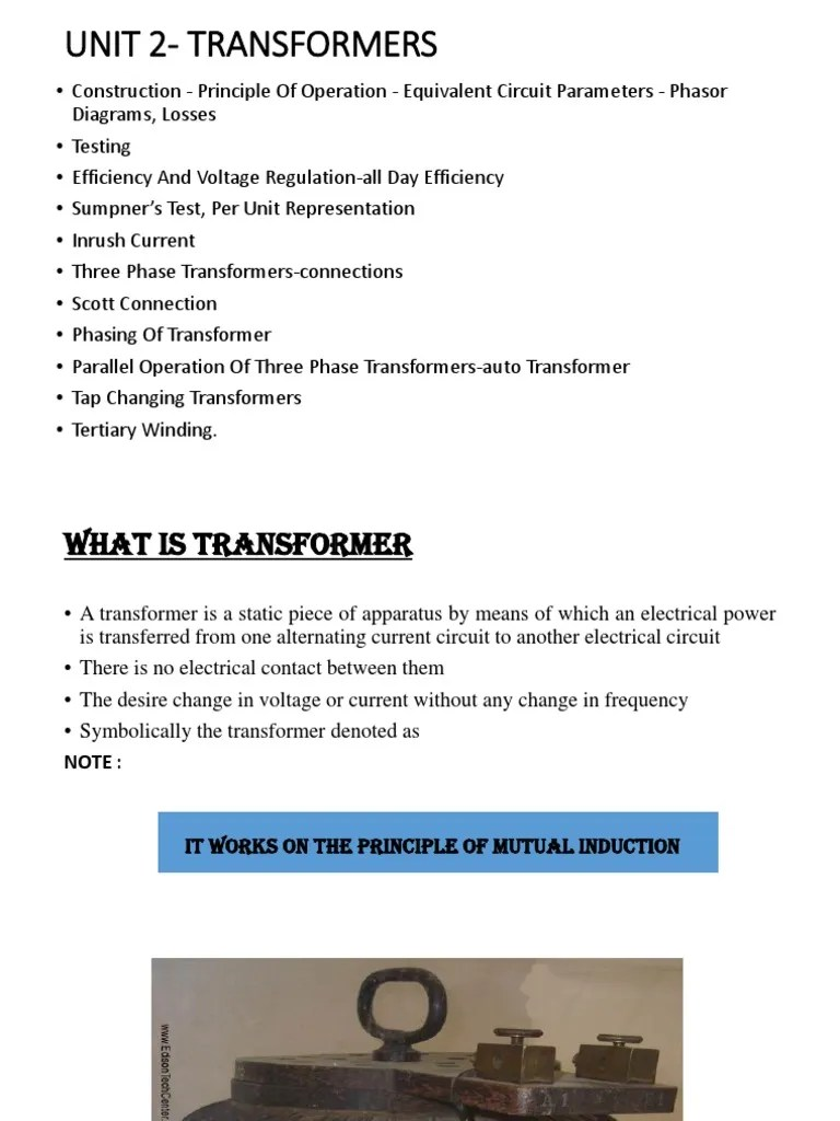 small resolution of electrical circuit transformer