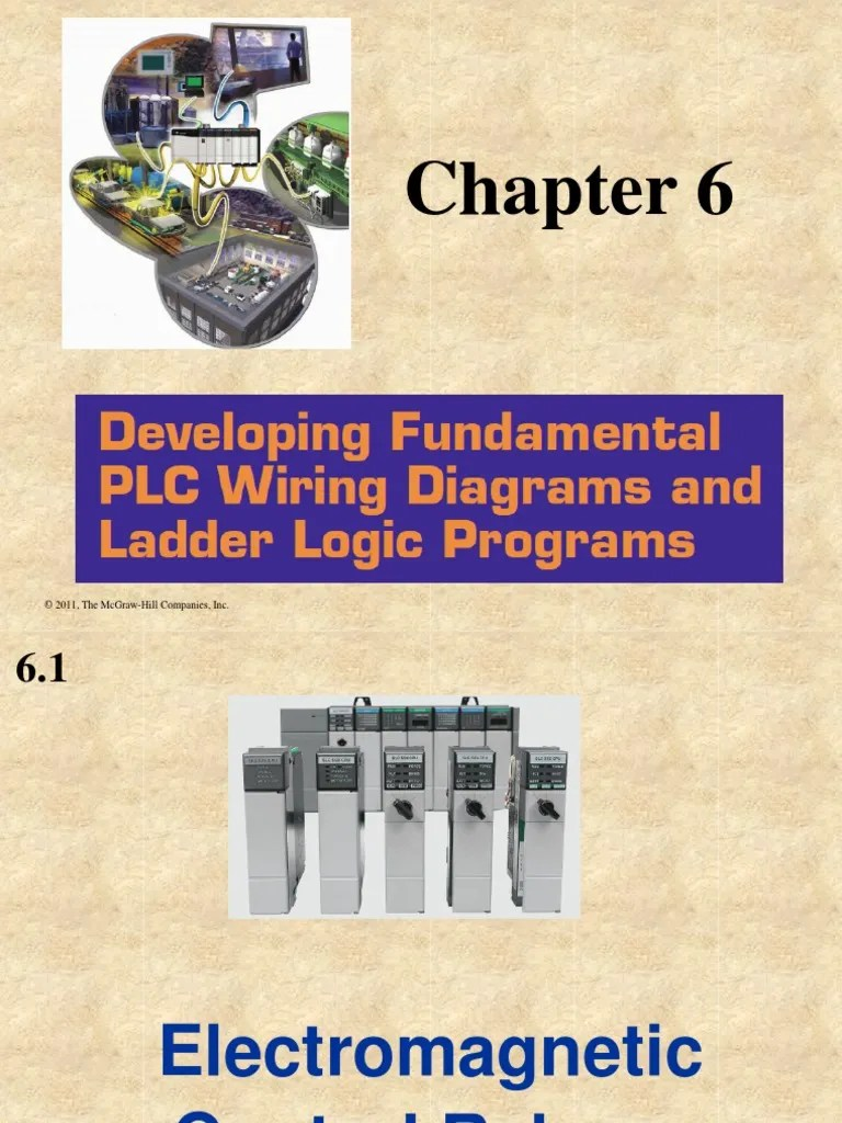chapter 6 developing fundamental plc wiring diagrams and ladder logic programs pdf relay switch [ 768 x 1024 Pixel ]