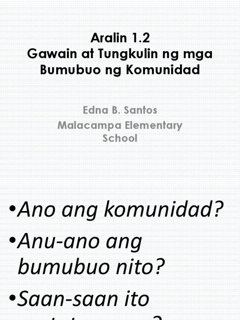 small resolution of Gawain at Tungkulin Ng Mga Bumubuo Ng Komunidad