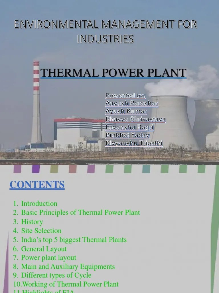 medium resolution of thermal power plant diagram