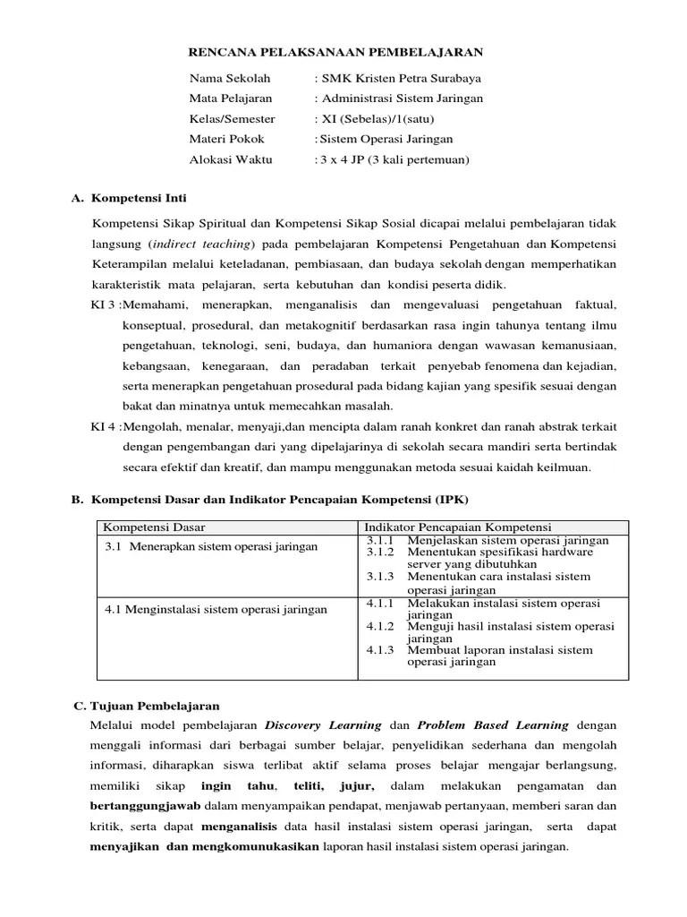 Silabus Sistem Operasi Jaringan Kelas Xii Kurikulum 2013 : silabus, sistem, operasi, jaringan, kelas, kurikulum, (Sistem, Operasi, Jaringan)