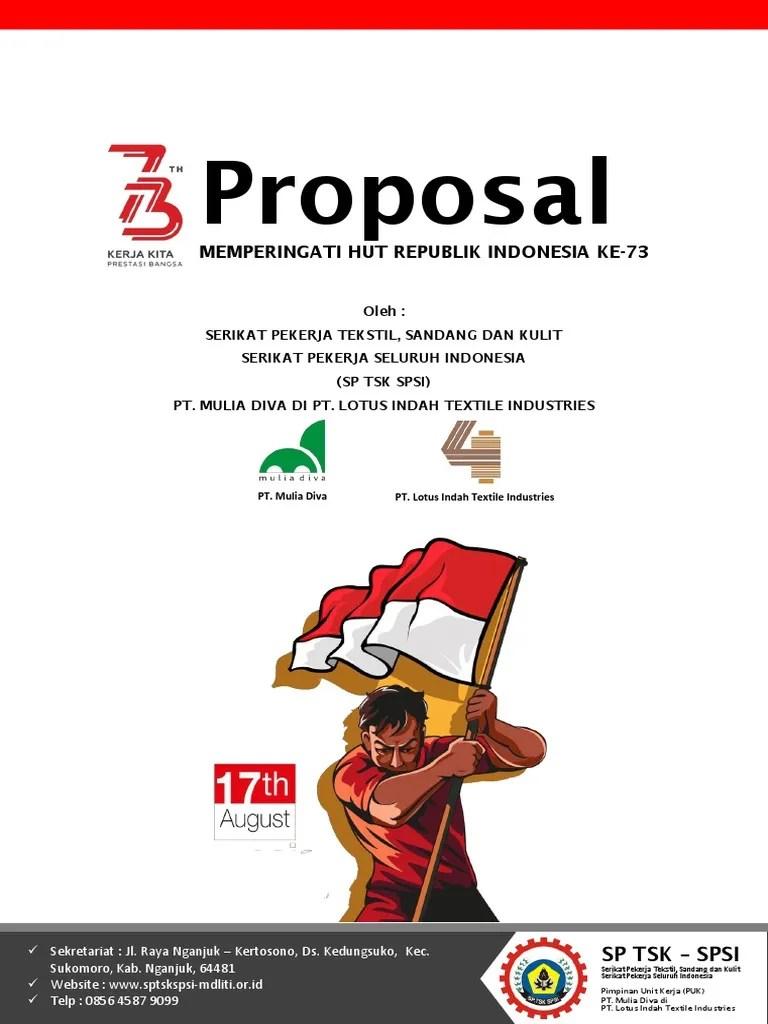 Proposal Hut Kemerdekaan Ri - Karyaku