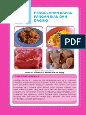 Pemilihan Daging Untuk Pembuatan Rendang Yang Baik Yaitu : pemilihan, daging, untuk, pembuatan, rendang, yaitu, Pengolahan, Bahan, Pangan, Daging