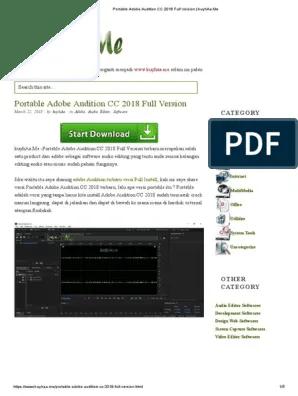 Adobe Indesign Cs6 Kuyhaa : adobe, indesign, kuyhaa, Adobe, Audition, Kuyhaa, Rasanya