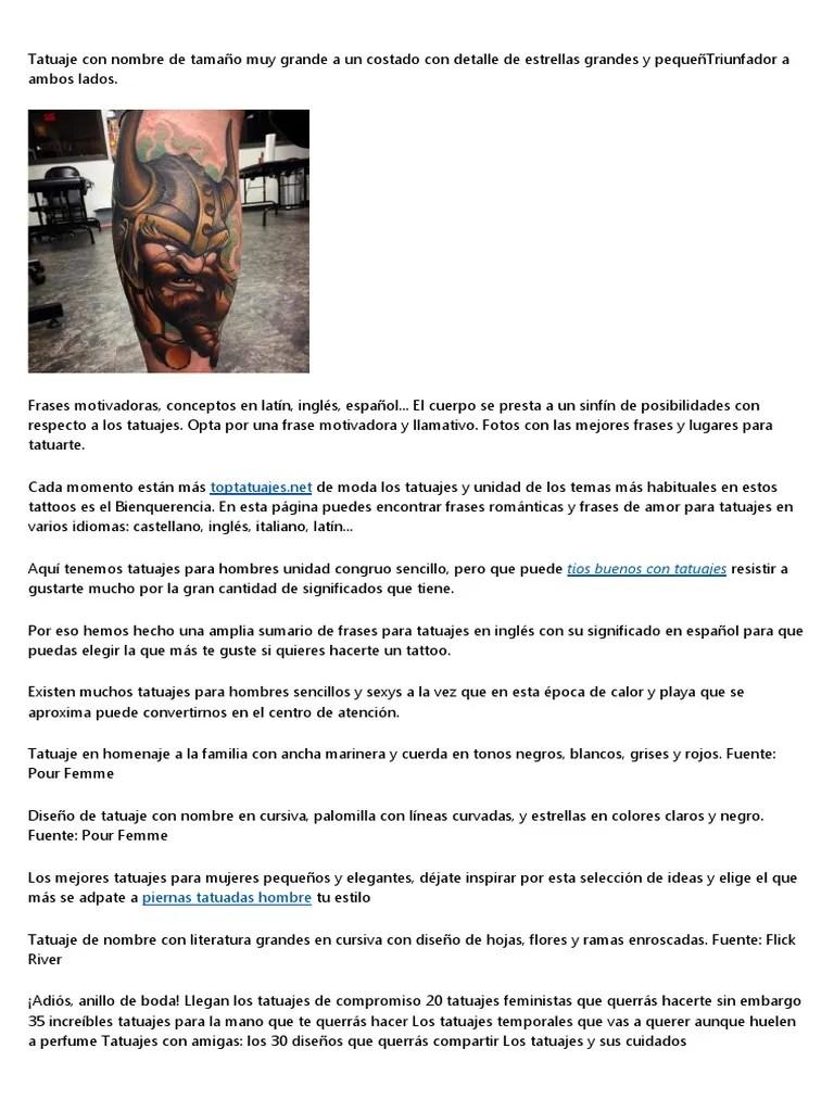 Tatuajes De Hombres En La Espalda Para Tontos