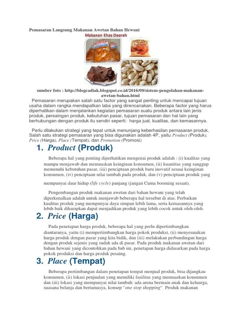 10 Makanan Awetan - Blogger