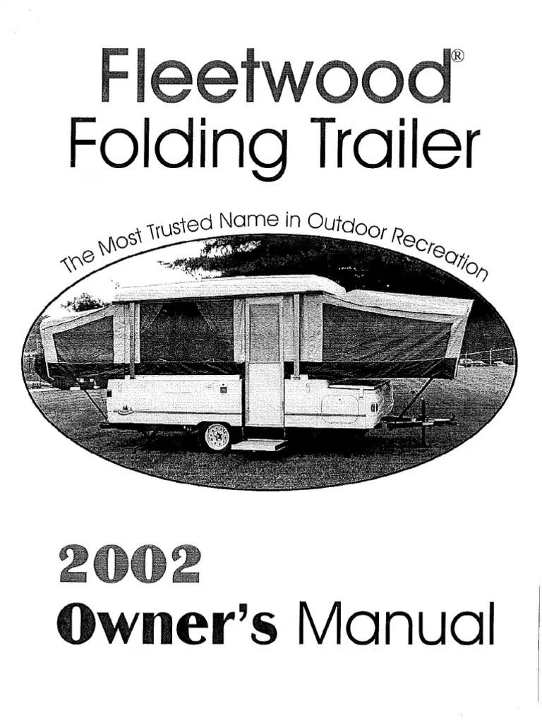 2002 Coleman Camper Manual