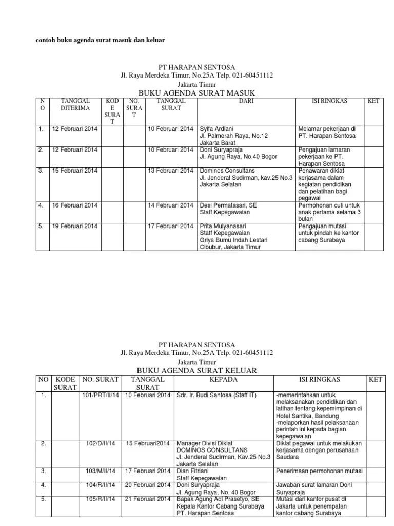 Agenda Surat Masuk : agenda, surat, masuk, 350486029-Contoh-Buku-Agenda-Surat-Masuk-Dan-Keluar.docx