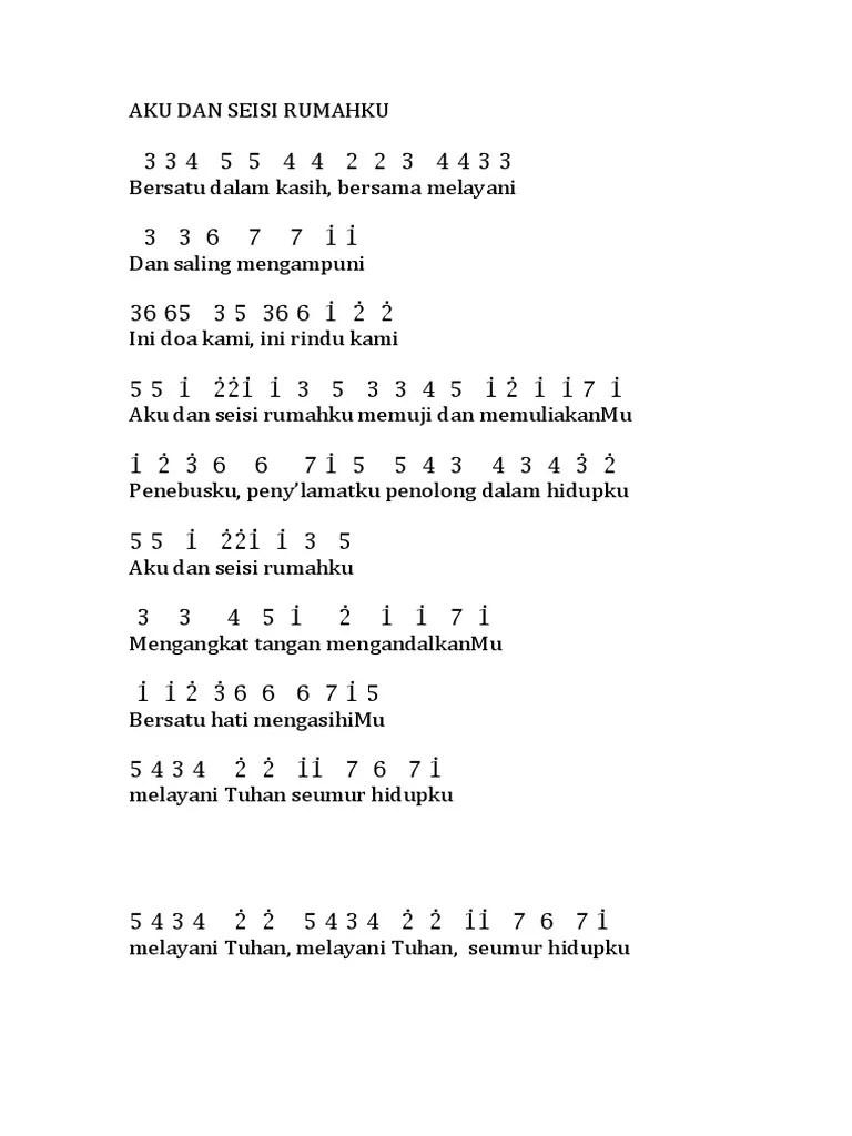 Tuhan Penebusku Chord : tuhan, penebusku, chord, Seisi, Rumahku, Angka, Edward